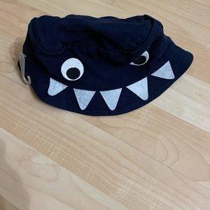 NWT Gymboree Boys Monster Bucket Hat 6-12 M